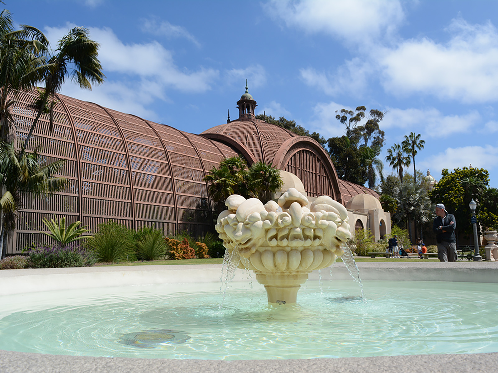 Restored Historic Fountains Friends Of Balboa Park